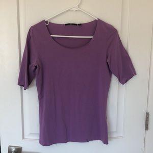 Purple Hugo Boss T-shirt size M
